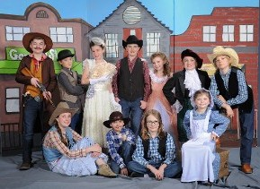 Theatre Group in Western Apparel